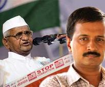 Anna Hazare and Arvind Kejriwal back together?
