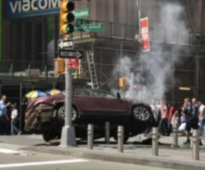 1 dead, 10 injured as car mows down pedestrians at NYC's Times Square