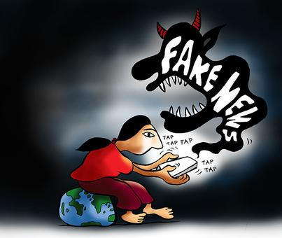 Busting fake news: Who funds whom?