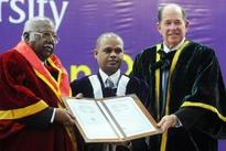 Justice A R Lakshmanan gets honorary doctorate