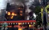 Major fire breaks out in Patna mall, shops and coaching centres gutted