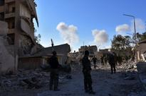 Syrian army presses attack in Aleppo, thousands flee