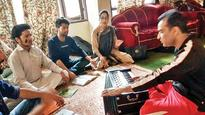 Breaking stereotypes, youth turn to music in Kashmir