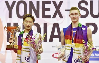 Tago wants mercy for Olympic medal hope Momota over casino visit