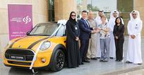 Commercial Bank announces Qatar Motor Show grand prize winner