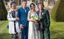 Mick Jagger and Jerry Hall attend son James Jagger's wedding celebration