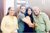 Ankita Bhargava rings in birthday with hubby Karan Patel and family