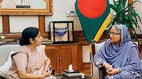 PM Modi advised Suu Kyi not to 'destroy' her image over Rohingya crisis: Swaraj tells Hasina
