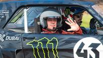 LeBlanc heads to the Isle of Man for Top Gear stunt