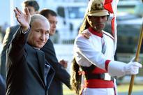 Ukraine hails sanctions as Russian stocks plunge