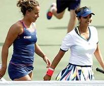Sania-Strycova in US Open quarters