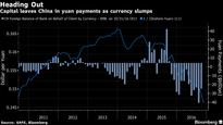 China Central Bank Faces New Outflow Headache