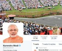 Two years on, PM Modi continues to relish achhe din on social media