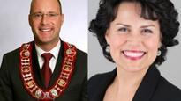 Amid sex scandal, Mayor Matt Brown returning to work