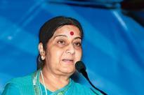 Sushma Swaraj warns Amazon over selling doormats with Indian flag