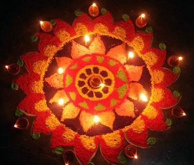 IN PICS: Readers share their colourful Rangolis