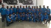Indian hockey contingent lands in Rio in quest of Olympic glory