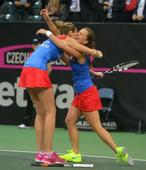 Tennis - Czechs edge France to retain Fed Cup title