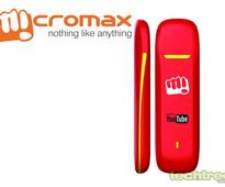 Micromax MMX377G Data Card Launches, Claims 14.4 Mbps Speed