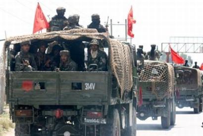 J&K: Army convoy attacked in Srinagar