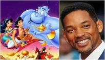 Will Smith acts like a 'Genie', shares the first cast photo of Disney's 'Aladin'