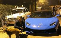 Rich kid problems: As Mulayam and Akhilesh fight for cycle, younger son spins a Lamborghini