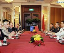 Chinese admiral attends Shangri La Dialogue in Singapore