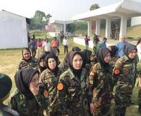 Women officers of Afghan army show that warfront is not just for boys