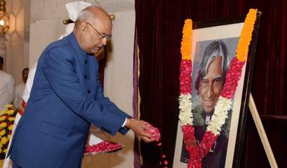 Prez remembers Dr Kalam on his birth anniversary