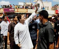 In photos: Rahul Gandhi visits Gujarat