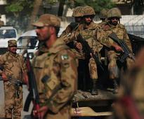 Pakistan helicopter gunships target criminal gang hideout; 100 arrested