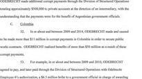 Colombia arrests former govt official in Odebrecht bribery case