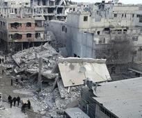 Five-day assault on Syrian enclave kills more than 400 ahead of UN vote