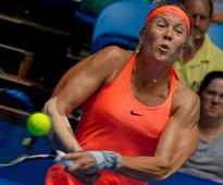 Czech Republic's Hradecka bows out of Hopman on a high