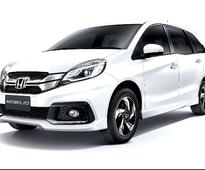 Honda Mobilio's run in India ends owing to poor demand
