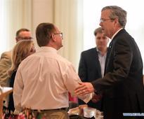 Jeb Bush attends luncheon event in Nashua, New Hampshire