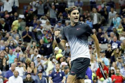 US Open: After two marathons Federer sprints into fourth round