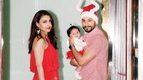 Soha Ali Khan reveals hubby Kunal Kemmu and baby Inaaya chat every morning