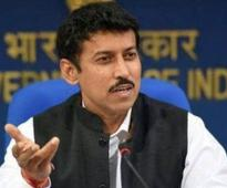 Cwealth Secy Gen meets Sports Minister Rathore
