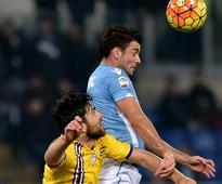 Late Zukanovic strike denies Lazio precious win