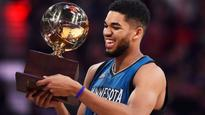 Timberwolves Towns takes title in Skills Challenge