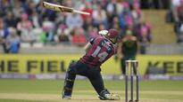 Champions Northants sneak home in rain-hit finale