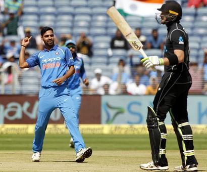 PHOTOS: How India demolished the Kiwis to level series