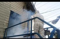 Prisoners transferred for mosquito fogging
