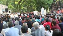 At least 20,000 Catholics pray at Sheshan for the Church in China