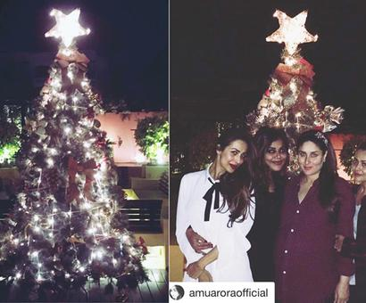 In pics: How girls have fun on Christmas
