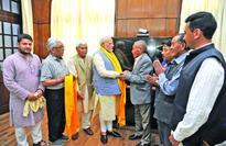 CEC LAHDC Leh led delegation calls on PM