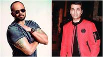 Rohit Shetty and Karan Johar to collaborate for a TV show?