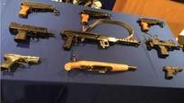 Armed police patrols in gun hotspots