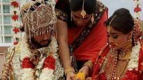 Somya Seth, star of Navya and Chakravartin Ashok Samrat, get married; See pics
